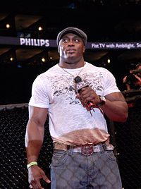Lashley bei einem American Fight League Event im Jahr 2008.