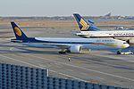 Boeing 777-35RER 'A6-JAF' Etihad Airways (30673777231).jpg