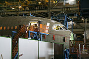 Assembly of Section 41 of a Boeing 787 Dreamliner.