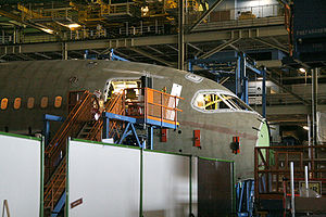 Manufacturing - Assembly of Section 41 of a Boeing 787 Dreamliner