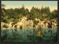 Bois du Boulougne (i.e., Boulogne), the cascade, Paris, France-LCCN2001698551.tif