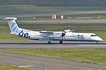 Bombardier DHC8-402 'G-JECM' Flybe (22917096951).jpg