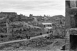 bombing of kristiansund the german invasion resulted in 24 towns being bombed in the spring of 1940 throughout the first world
