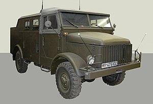 Borgward B 2000 A / O Saksan säiliömuseo Munster