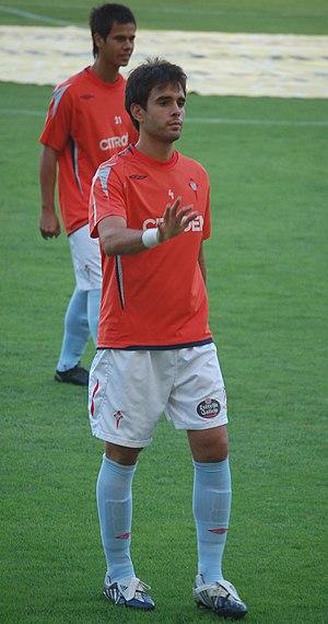 Borja Oubiña - Oubiña training with Celta in 2009