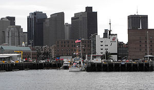 Coast Guard Base Boston - Image: Boston Coast Guard