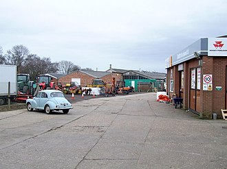 Spilsby branch - Former station and goods yard site at Spilsby