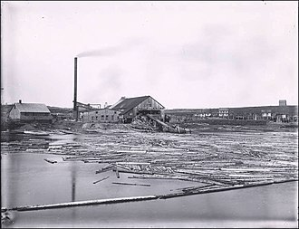 Botwood - Exploits River Lumber and Pulp Company