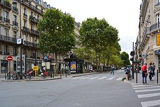 Boulevard Raspail - Image: Boulevard Raspail, Paris 24 August 2013