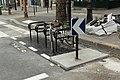 Boulevard Saint-Martin (Paris), arceaux à vélo 02.jpg