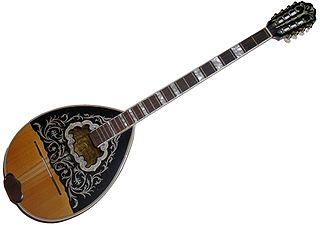 <i>Bouzouki</i> Greek a plucked stringed instrument