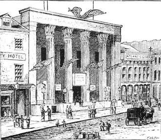 Bowery Boys - Image: Bowery Theatre, Manhattan