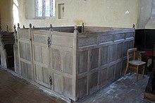 box pew in st church thompson norfolk