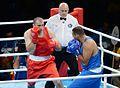 Boxing at the 2016 Summer Olympics, Majidov vs Arjaoui 6.jpg