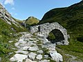 Brücke Südlich vom Septimerpass (rätoromanisch Pass da Sett), Passo del Settimo, Sentiero Storico - panoramio.jpg