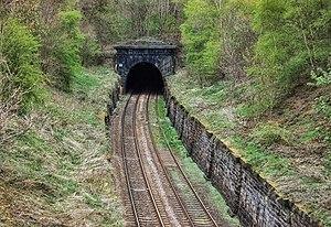 Harrogate line - South portal of the Bramhope Tunnel