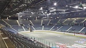 Brandt Centre - The Brandt Centre before hockey season.