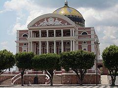 Il teatro dell'Opera di Manaus