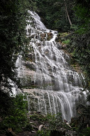 Chilliwack - Bridal Veil Falls near the Village of Popkum