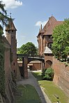 Bridge between High and Middle Castle in Malbork, part 2.jpg