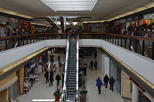 Bridlewood Mall - Interior of the mall