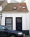foto van Schilderachtig huisje met belangrijke achtergevel aan het Catharijnehof