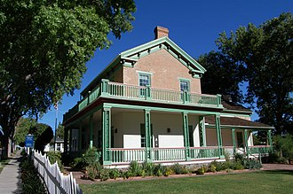 St. George, Utah - Brigham Young Winter Home and Office in St. George