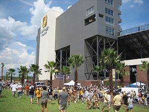 2007 UCF Knights football team - Bright House Networks Stadium, the Knights home field.