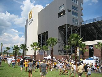 2011 UCF Knights football team - Bright House Networks Stadium, the Knights home field.