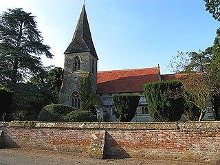 Brightwalton village in the United Kingdom
