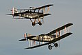 Bristol F2B Fighter and R.A.F. SE5a at Old Warden (12850489705).jpg