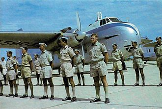 No. 41 Squadron RNZAF - No. 41 Squadron personnel and a Bristol Freighter in Thailand during 1962