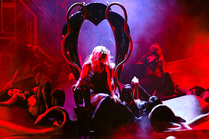 "I'm a Slave 4 U - Britney performing ""I'm a Slave 4 U"" on the Britney: Piece of Me show in 2014."