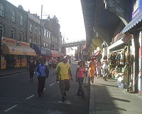 Brixton, Electric Avenue, sumer 2007
