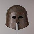 Bronze helmet of South Italian-Corinthian type MET DP105644.jpg