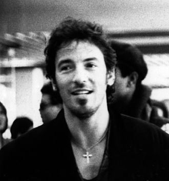 Bruce Springsteen - Springsteen at Félix Houphouët-Boigny International Airport in Ivory Coast during Amnesty International's 1988 Human Rights Now! Tour
