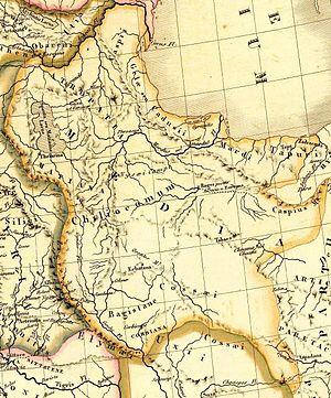 Matiene - Location of Matiene