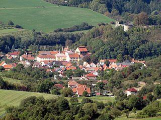 Brumov-Bylnice Town in Zlín, Czech Republic