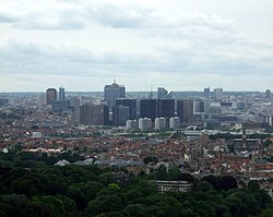 Brussels skyline. Image: James Cridland.