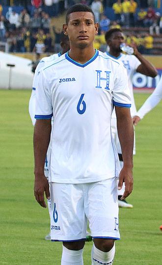 Bryan Acosta - Acosta playing for Honduras in 2015