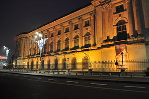 Bucharest - Palace before dawn 01