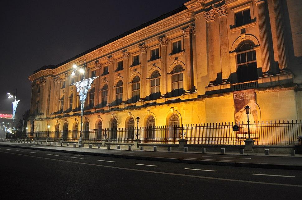 Bucharest - Palace before dawn 01