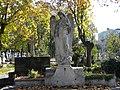 Bucuresti, Romania, Cimitirul Bellu Catolic, (ingerul in toamna 2013) (2).JPG