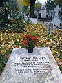 Bucuresti, Romania, Cimitirul Bellu Catolic (Ludovic Mrazec)(primul profesor de Mineralogie din Romania) (2).jpg