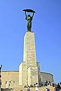 Budapest Gellért socha svobody 2