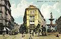 Budapest Kalvin ter 1910 kepeslap.jpg