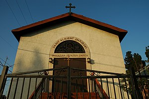 Bulgarian Americans - A Bulgarian church (Saint Climent of Ohrid) in Los Angeles, California