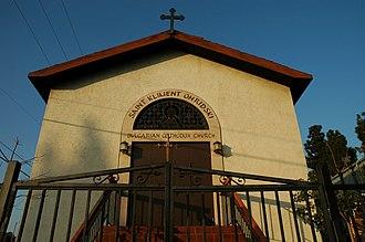Bulgarian Americans - A Bulgarian church (Saint Climent of Ohrid) in Los Angeles, California