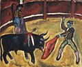 Bull fighting by Petr Konchalovsky (1910) 02.jpg