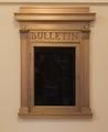 Bulletin display at Minneapolis Federal Building, Minneapolis, Minnesota LCCN2013634152.tif